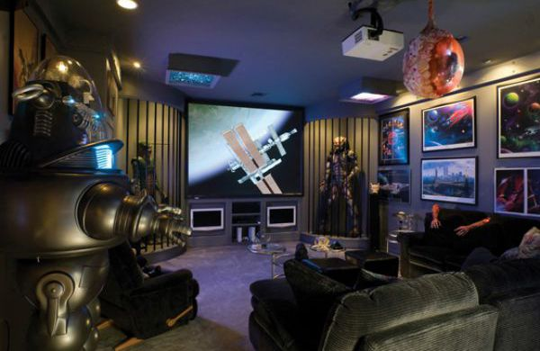 45+ Video Game Room Ideas To Maximize Your Gaming Experience Part 81