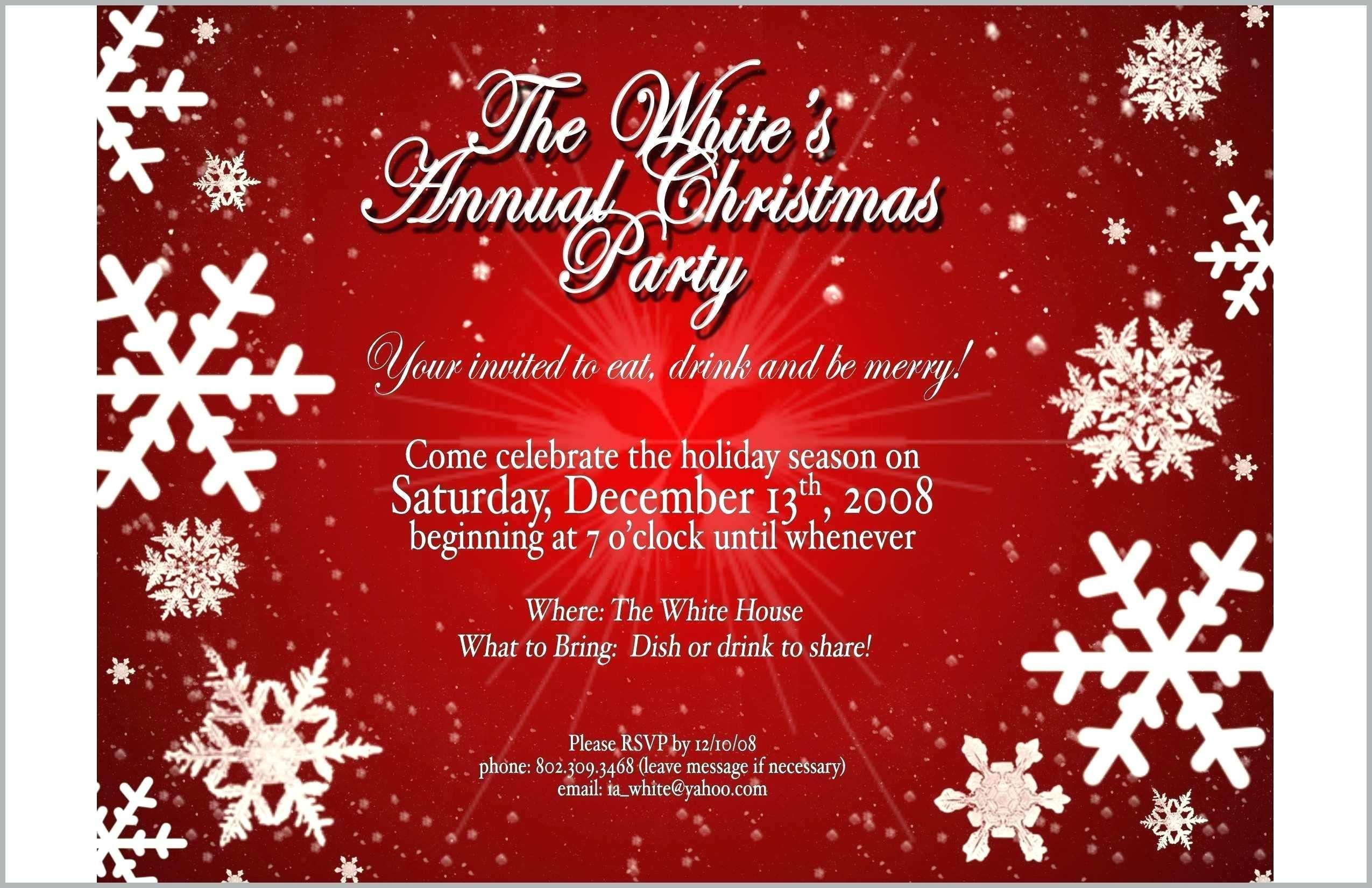 8 Holiday Invitation Template Party Invite Template Free Christmas Invitation Templates Christmas Party Invitation Template
