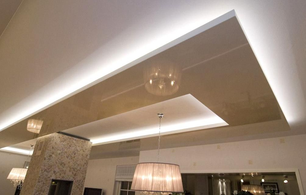 Led Lighting For Suspended Ceiling Home Decor Color Drop