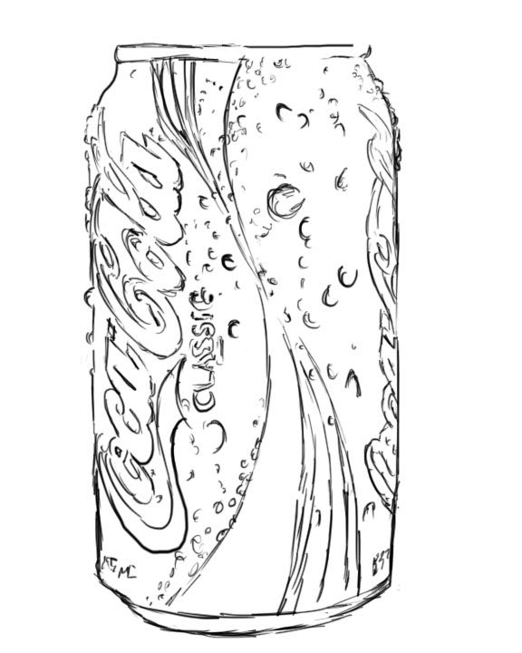 Coke Can Colouring Pages Pop Art Coloring Pages Colouring Pages Coloring Pages