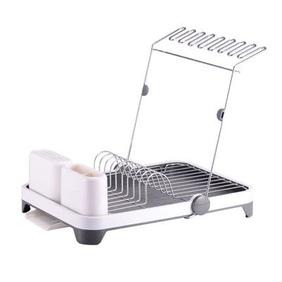 Sabatier Dish Rack Magnificent Hopeful Enterprise Deluxe Multifunction Dish Rack Finish White Decorating Inspiration