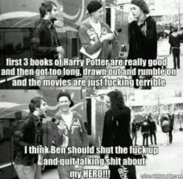 Yeah, Ben I love those books! Asking Alexandria