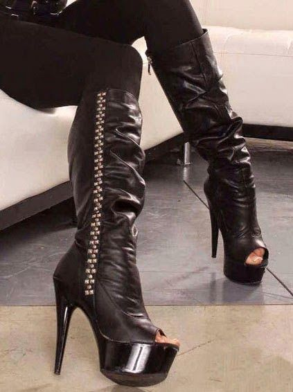 c6cc878a53dc Sexy Knee High Platform  Boot ...  shoes  heels  fashion