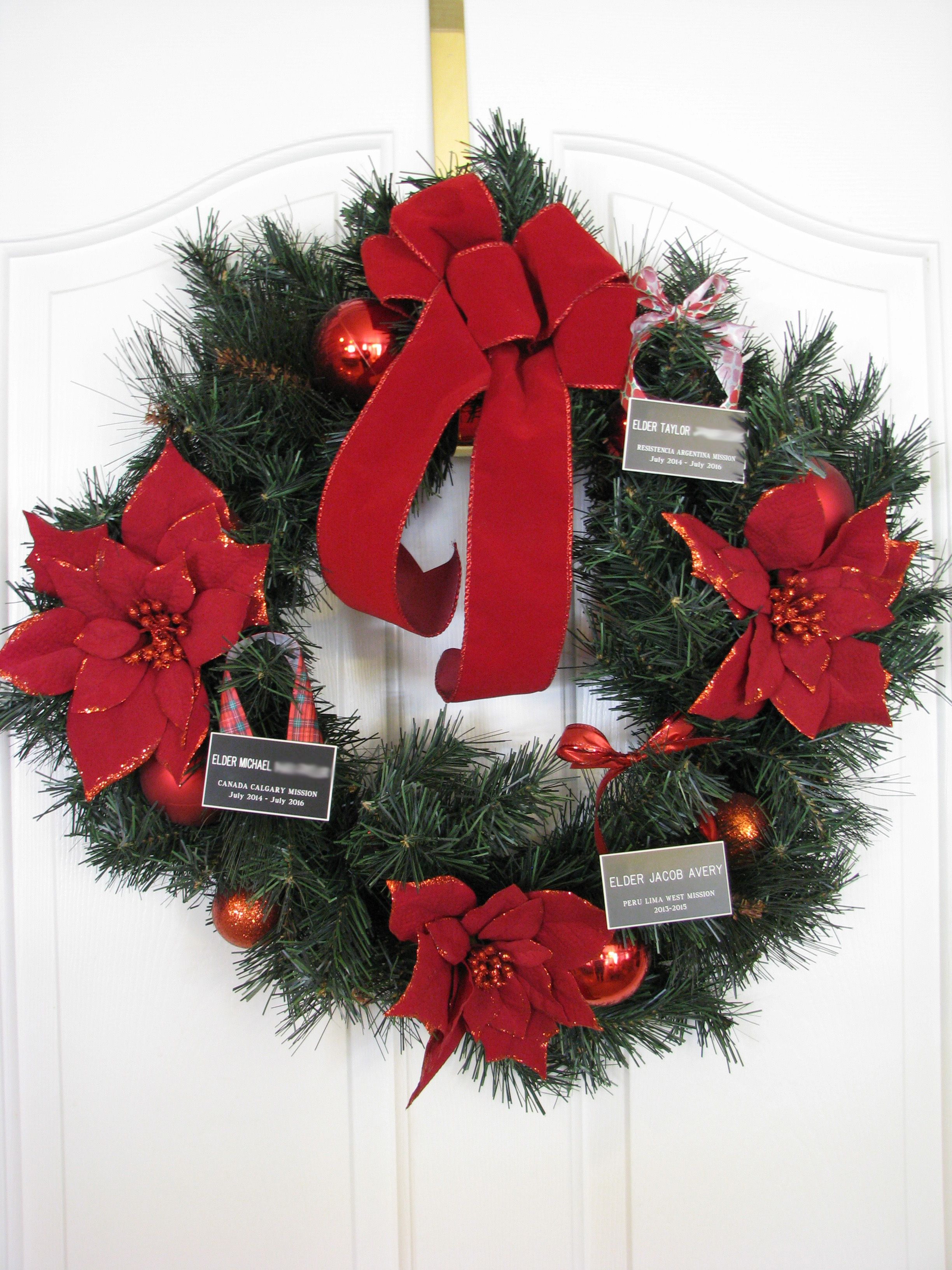 Missionary Name Tag Ornament | Missionary Exchanges
