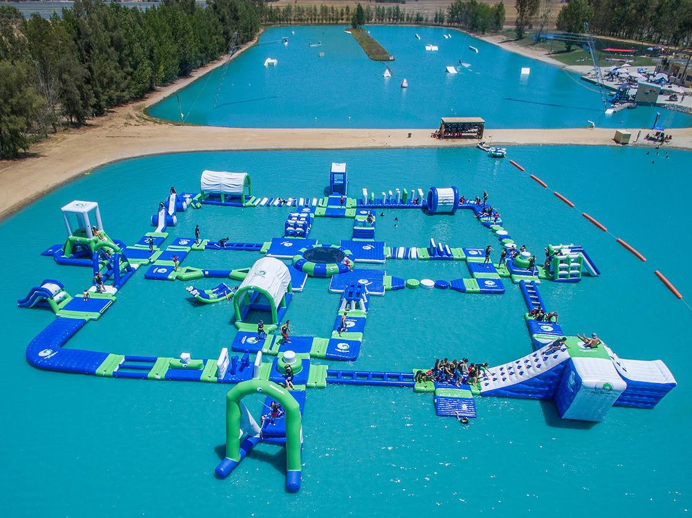 New inflatable water park for 2016 bouncia water park