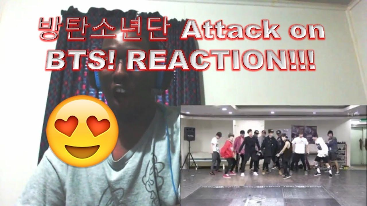 방탄소년단 Attack on BTS! REACTION!!!