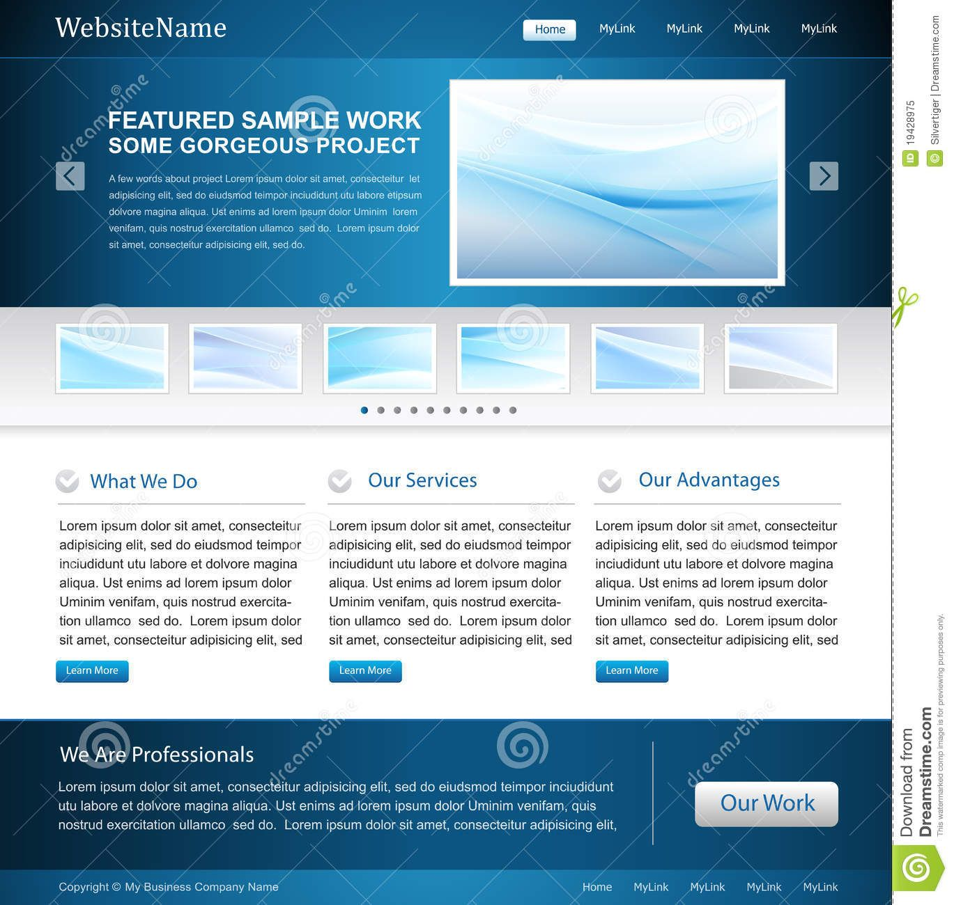 Business website design template royalty free stock photo image business website design template royalty free stock photo image 19428975 wajeb Choice Image