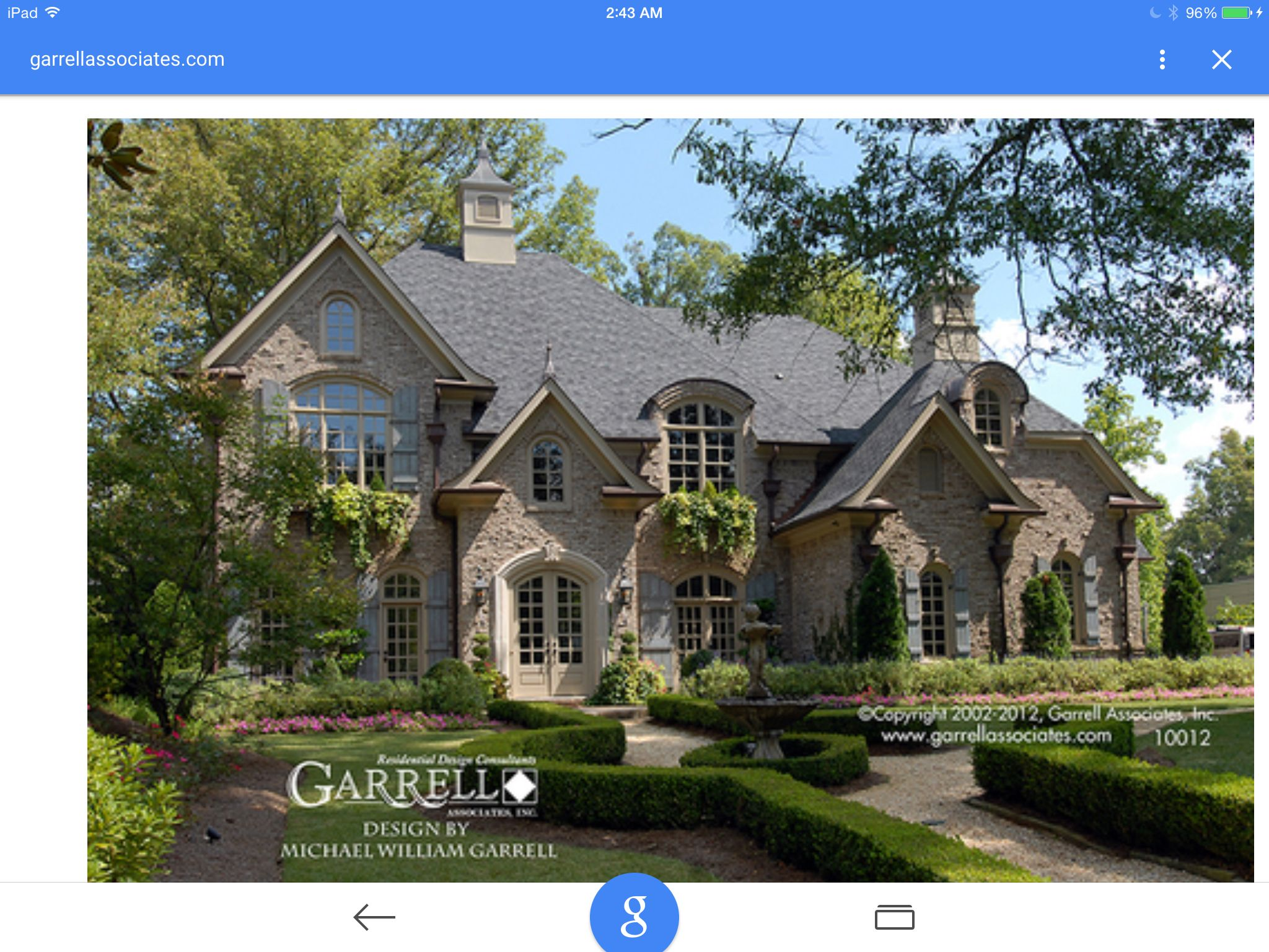 My Dream Home Luxury House Plans French Country House European House
