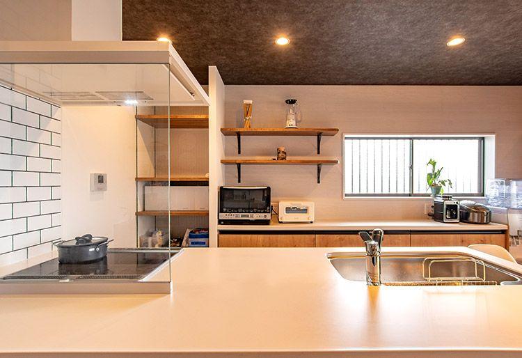 豊かな感性を育むお家 リノベーション キッチン インテリアデザイン