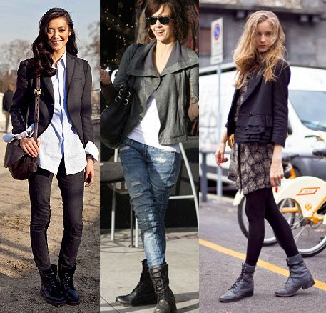 Style Tips for Women on Wearing Combat Boots | Combat Boots For ...