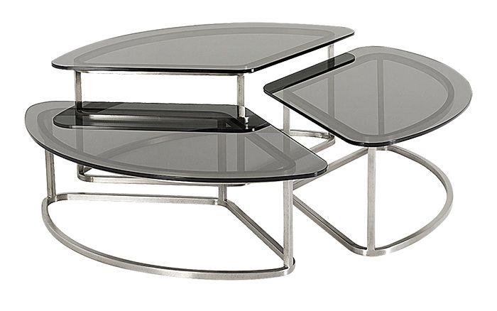 Les tables basses de la saison  En transparence     Table Citrine Cocktail Table, Jean-Louis Deniot (Baker)