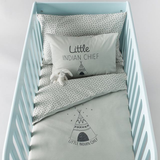 Housse de couette bébé coton, Tipi | Housse