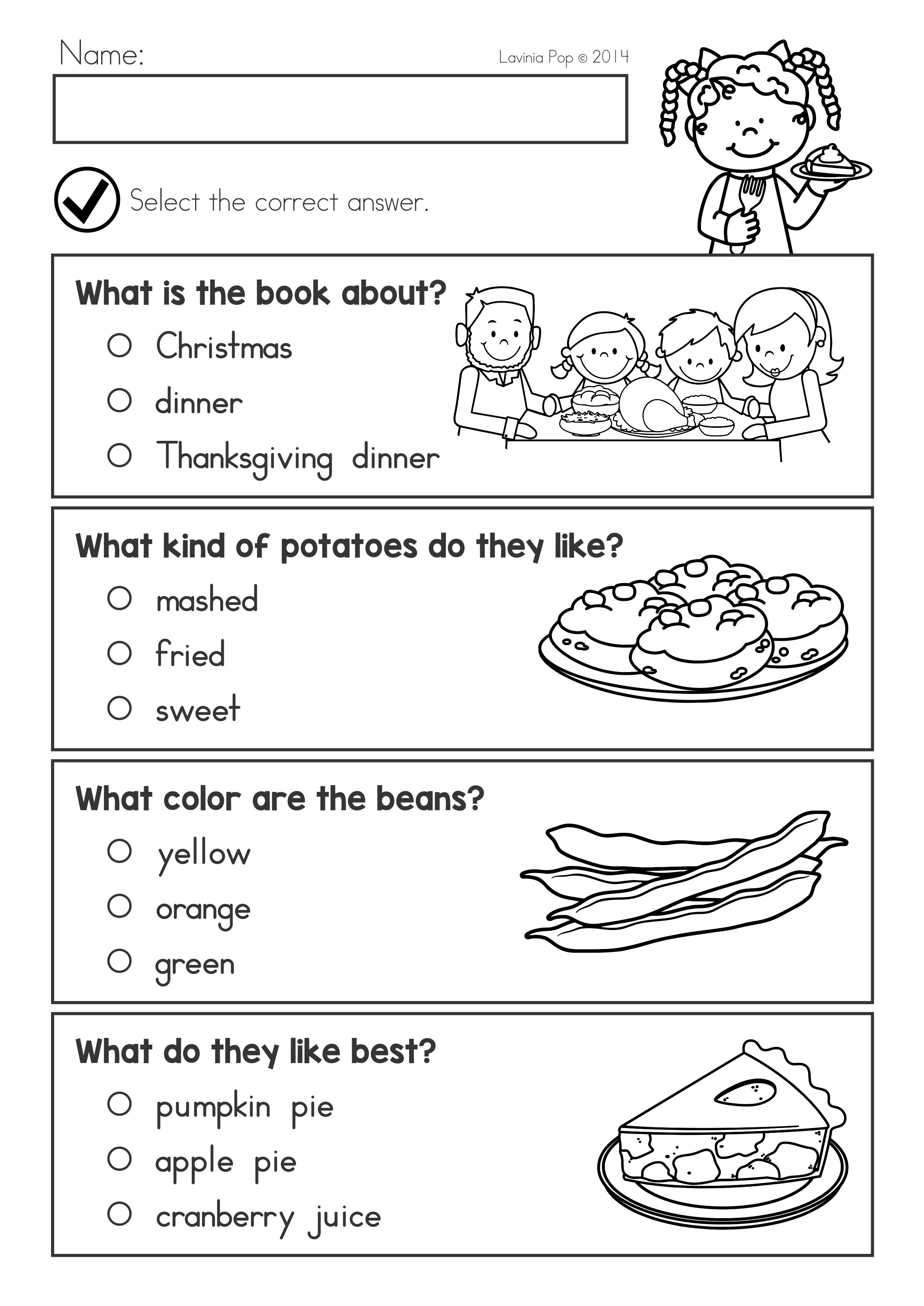 Thanksgiving Math Literacy Worksheets And Activities Literacy Worksheets Thanksgiving Math Math Literacy [ 3508 x 2482 Pixel ]