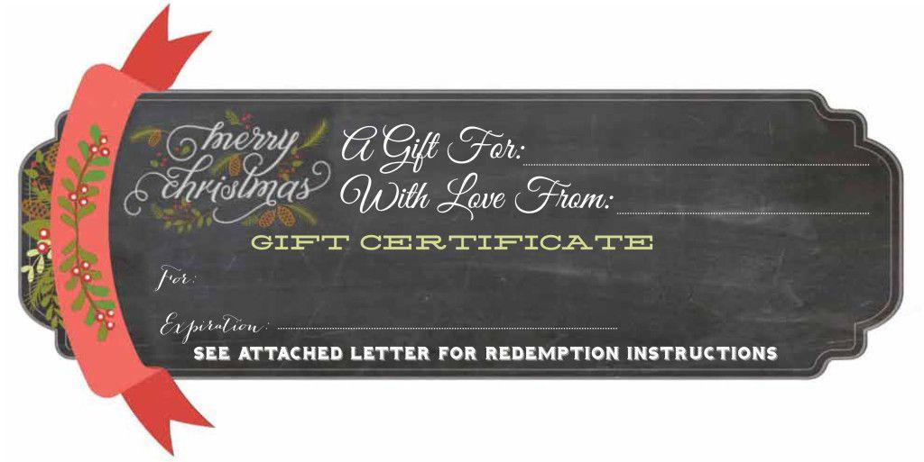 free printable christmas gift certificate moxiblog com christmas