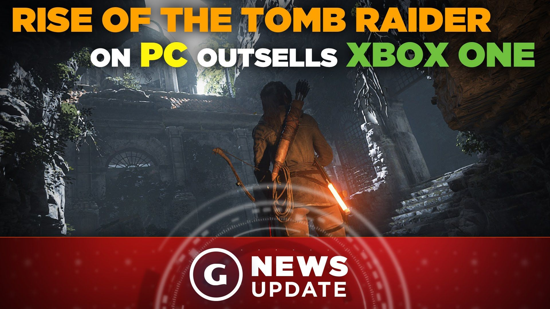 Rise of the Tomb Raider First-Month PC Sales Almost Triple Xbox One Debut - GS News Update | GS News Update | Pinterest | Xbox one, Xbox and Raiders