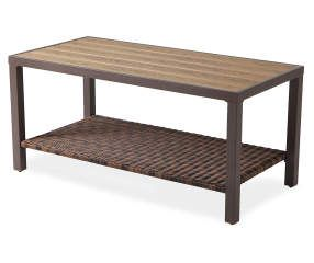 Best I Found A Palermo Resin Wicker Faux Wood Coffee Table At 400 x 300