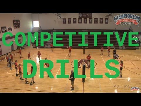 Competitive Volleyball Drills For Offense And Defense Youtube Ejercicios De Voleibol King S