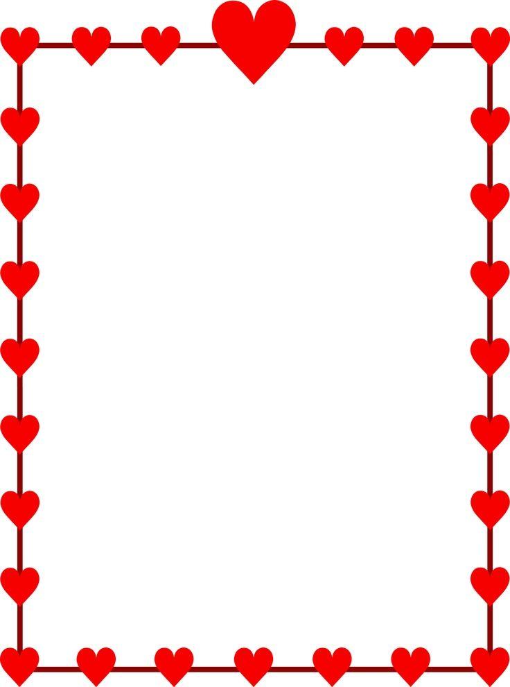 valentines day clip art borders grace pinterest clip art clip rh pinterest com