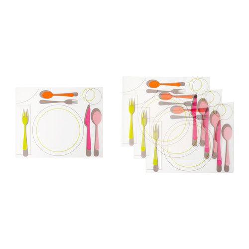 클리스트리그 식탁매트 IKEA 식탁 표면을 보호해주며 접시와 커트러리에서 발생하는 소리도 줄여줍니다.