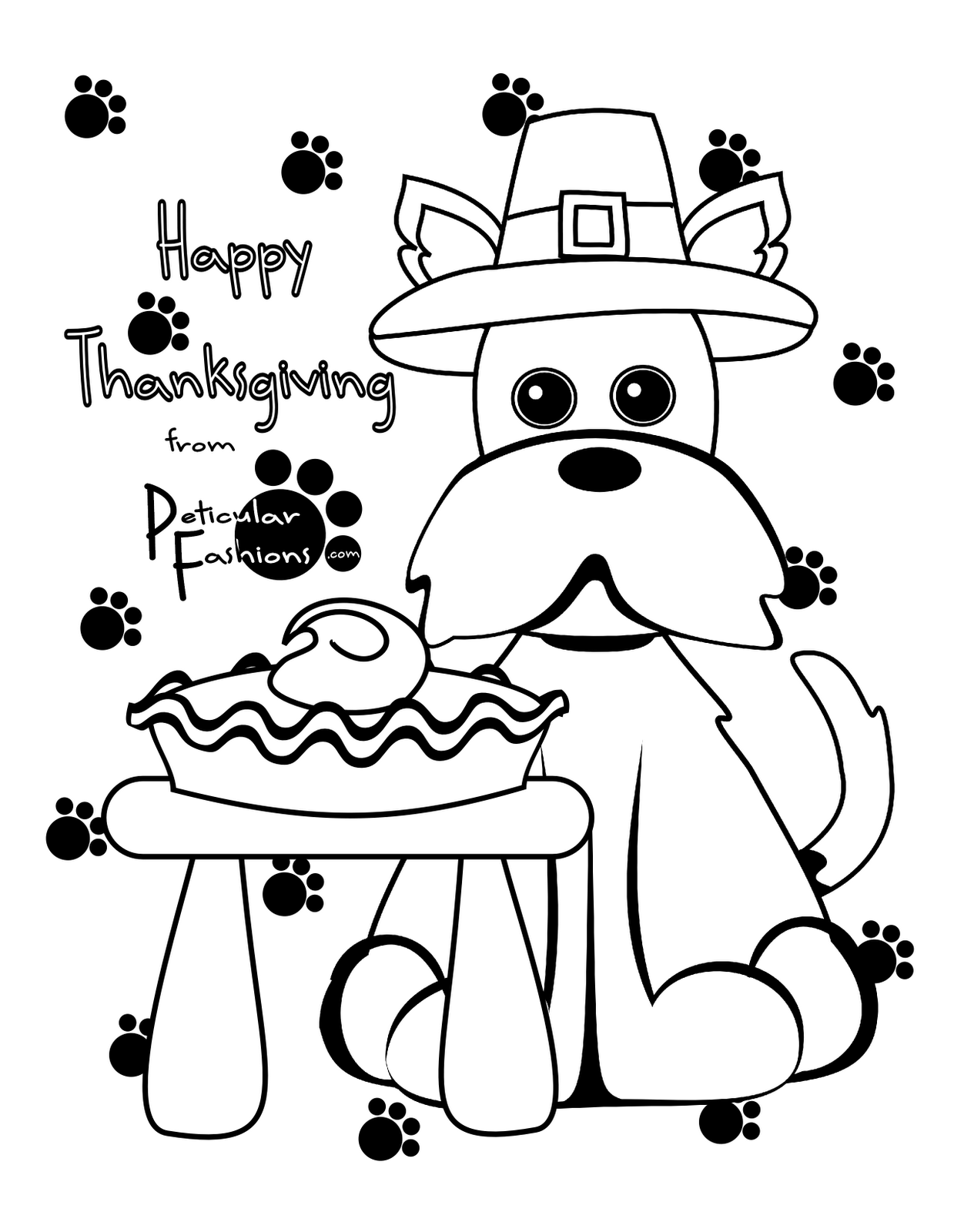 thanksgiving coloring pages | ThanksGiving Coloring Pages - Free ...