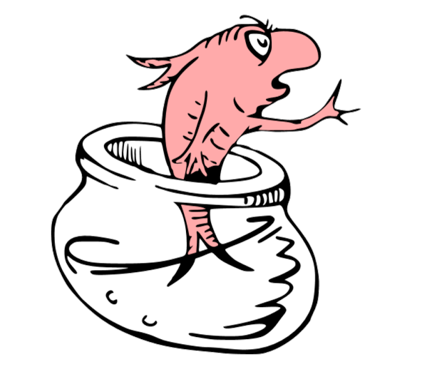 Cat In The Hat Clipart: Displaying CAT IN THE HAT - FISH.svg