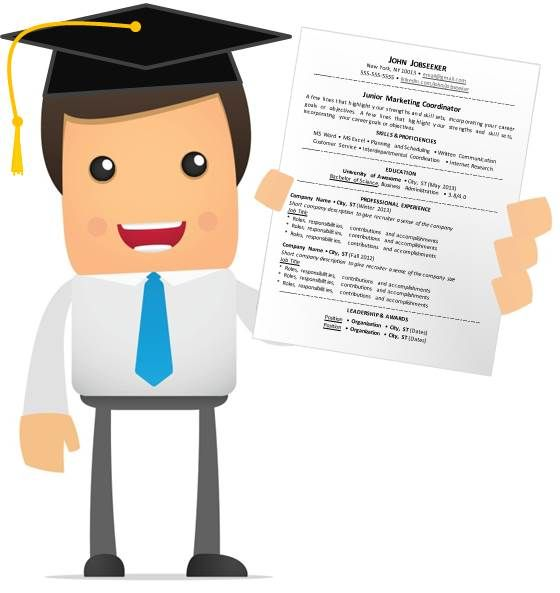 Resume Advice for the Recent Grad Career Advice Pinterest - recent grad resume