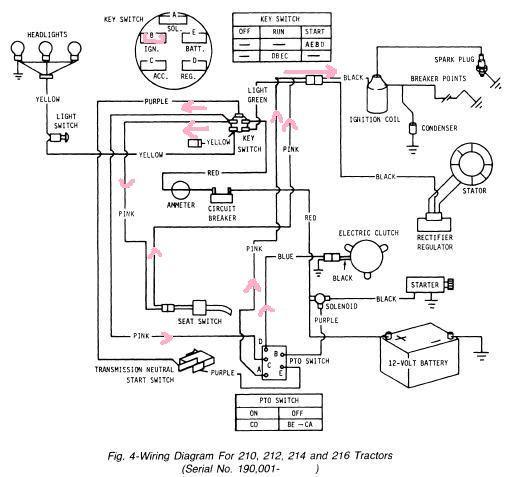 wiring diagram for lx176 lawn mower  u2013 readingrat net