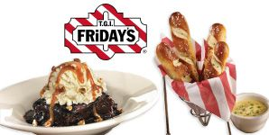 Free appetizer or dessert at TGI Friday's | Free Stuff | Appetizers