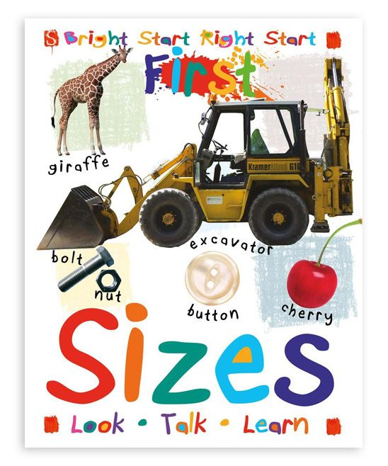 First Sizes Board Book