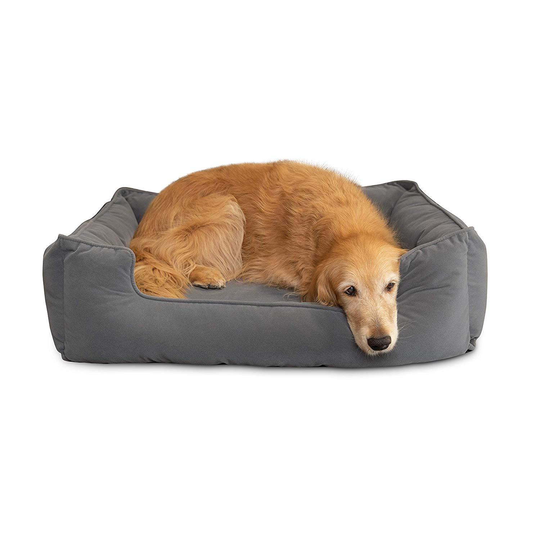 Amazon Com Petsbao Premium Dog Bed With 4 Solid Memory Foam