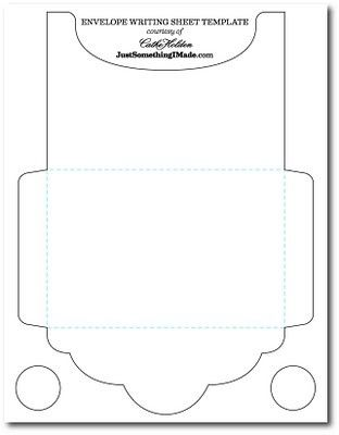 Mel Stampz Over 100 envelope templates and tutorials paper - money envelope template