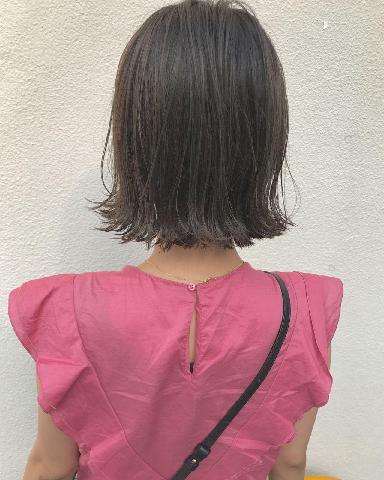 切りっぱなしボブ Instagram→kento.1107
