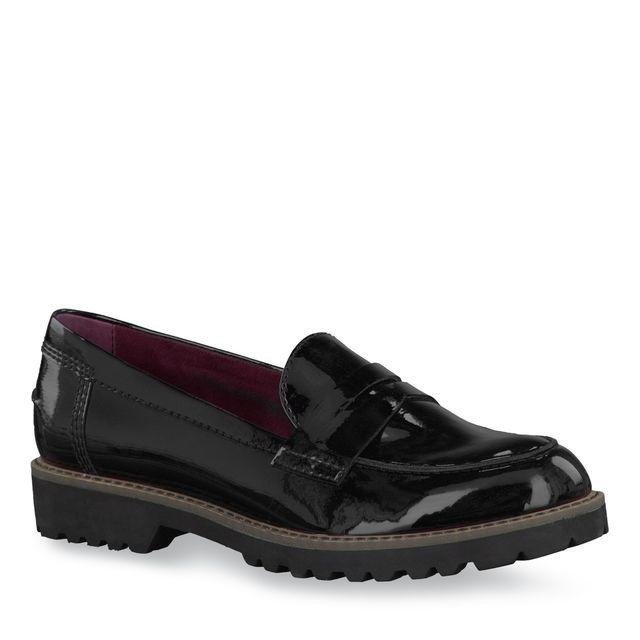 Lynn Black Shoes Tamaris Loafers