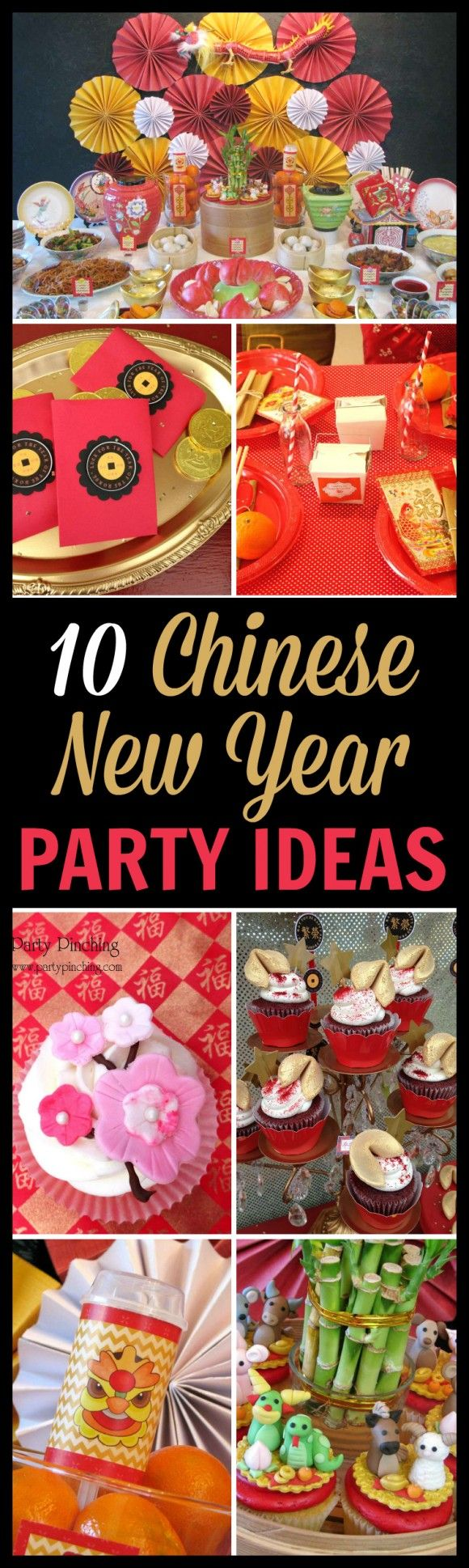 chinese new year party ideas | goats, favors and decoration