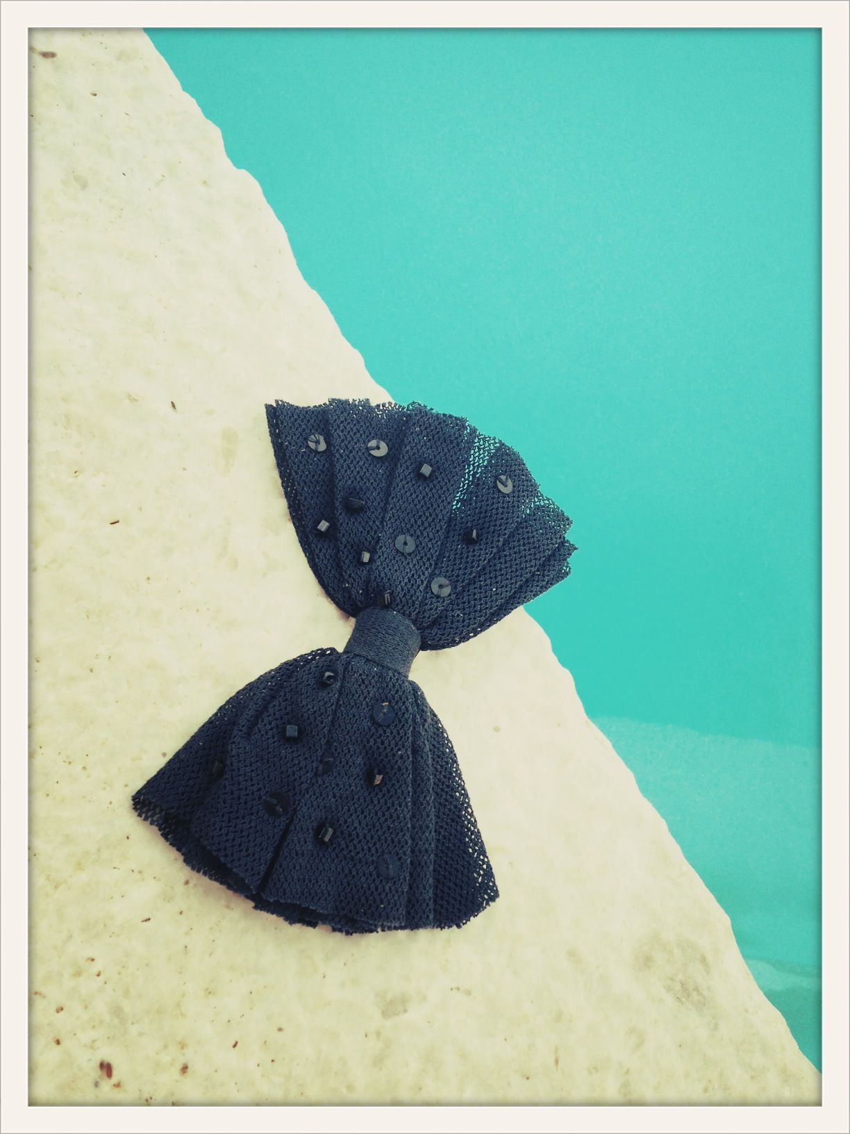 Yves at the pool #ohhyves #bow #bowtie #summer #pool #chic