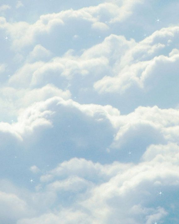 Clouds By Jessica And Holly Baby Blue Aesthetic Blue Aesthetic Pastel Blue Aesthetic