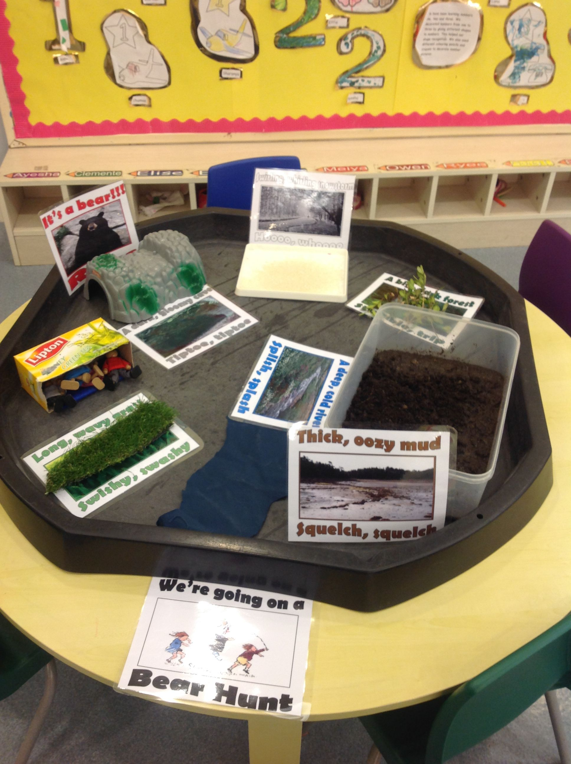 Small World We Are Going On A Bear Hunt The Children Can Re Enact The Story Of The Bear Hunt