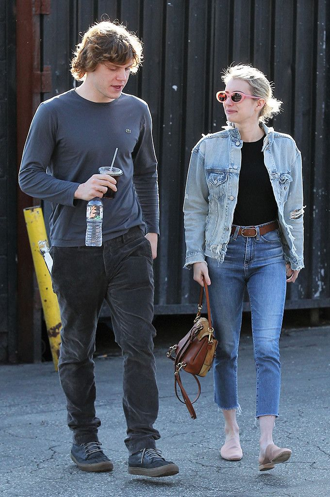 240f31b6266 Evan Peters   Emma Roberts from The Big Picture  Today s Hot Photos Must be  love! The happy couple is spotted out for lunch in Los Feliz.