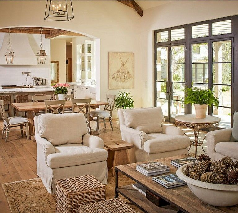 38 Stunning Vintage French Country Living Room Ideas French