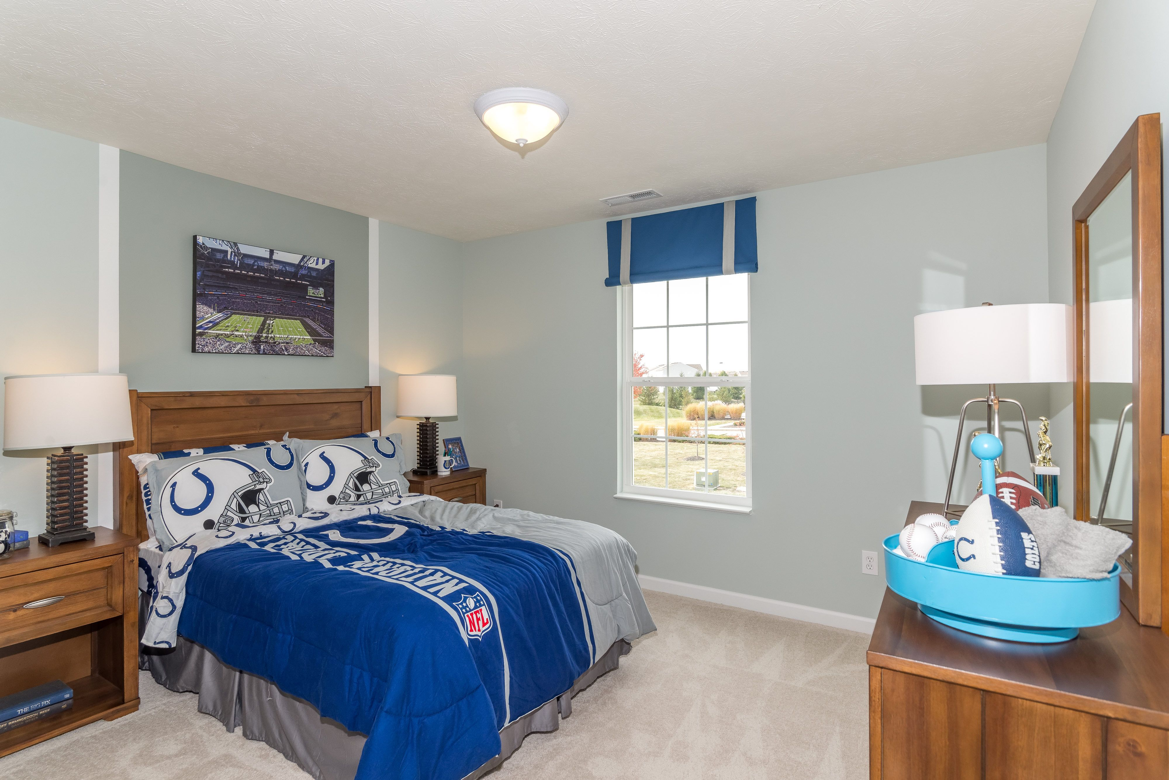 Colts Inspired Boys Bedroom Of The Spruce Home