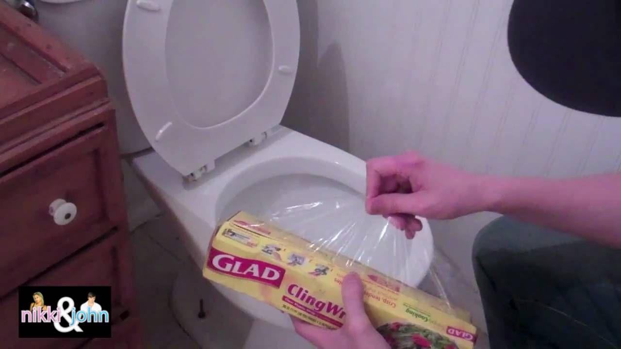 Groovy Wedding Night Pranks Shrink Wrap Toilet Pranks Good Pdpeps Interior Chair Design Pdpepsorg