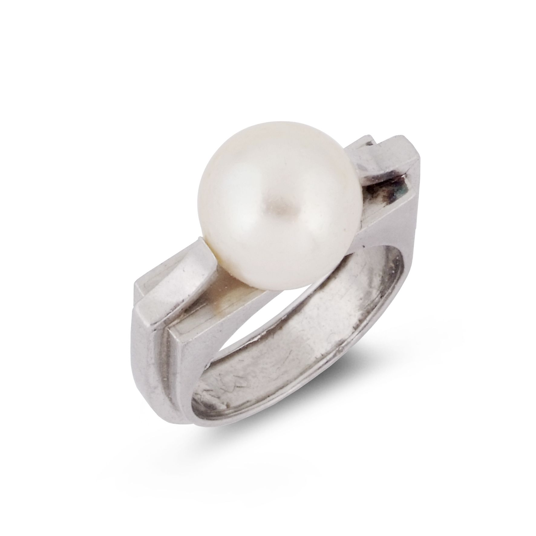 pearl rings despres and a ring circa jean symbolic cultured pin platinum