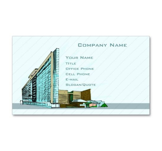 25 best business cards for architects constructors free