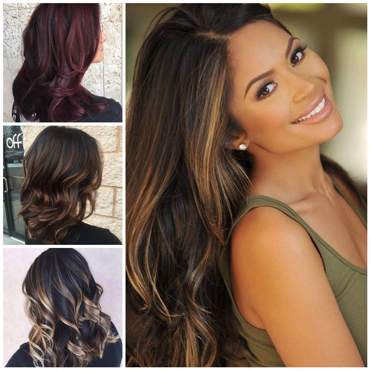 Hair Color Highlights For Dark Brown Hair Best Hair Color For Dark Skin Women Check More At Http Frenzyhairstudio Com Hair Color Highlights For Dark Brown H