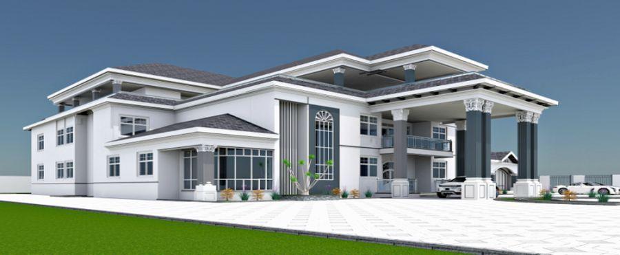 Maison Contemporaine Wiki Avec Construction De Maison Passive Sur Overblog Et Modele De Maison Californi In 2020 House Plans Mansion House Exterior Unique House Design