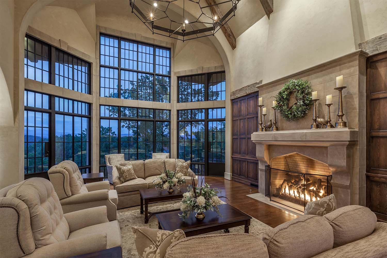 Delightful European Inspired Dwelling On Lake Keowee South Carolina Mansion Living Mansion Living Room Luxury House Interior Design
