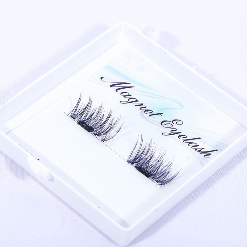 7447fc41886 Crisscross Magnetic False Eyelashes Eye Lashes Full Make Up Long Thick Fake  Eyelashes Extensions Cosmetic Magnetic Lashes