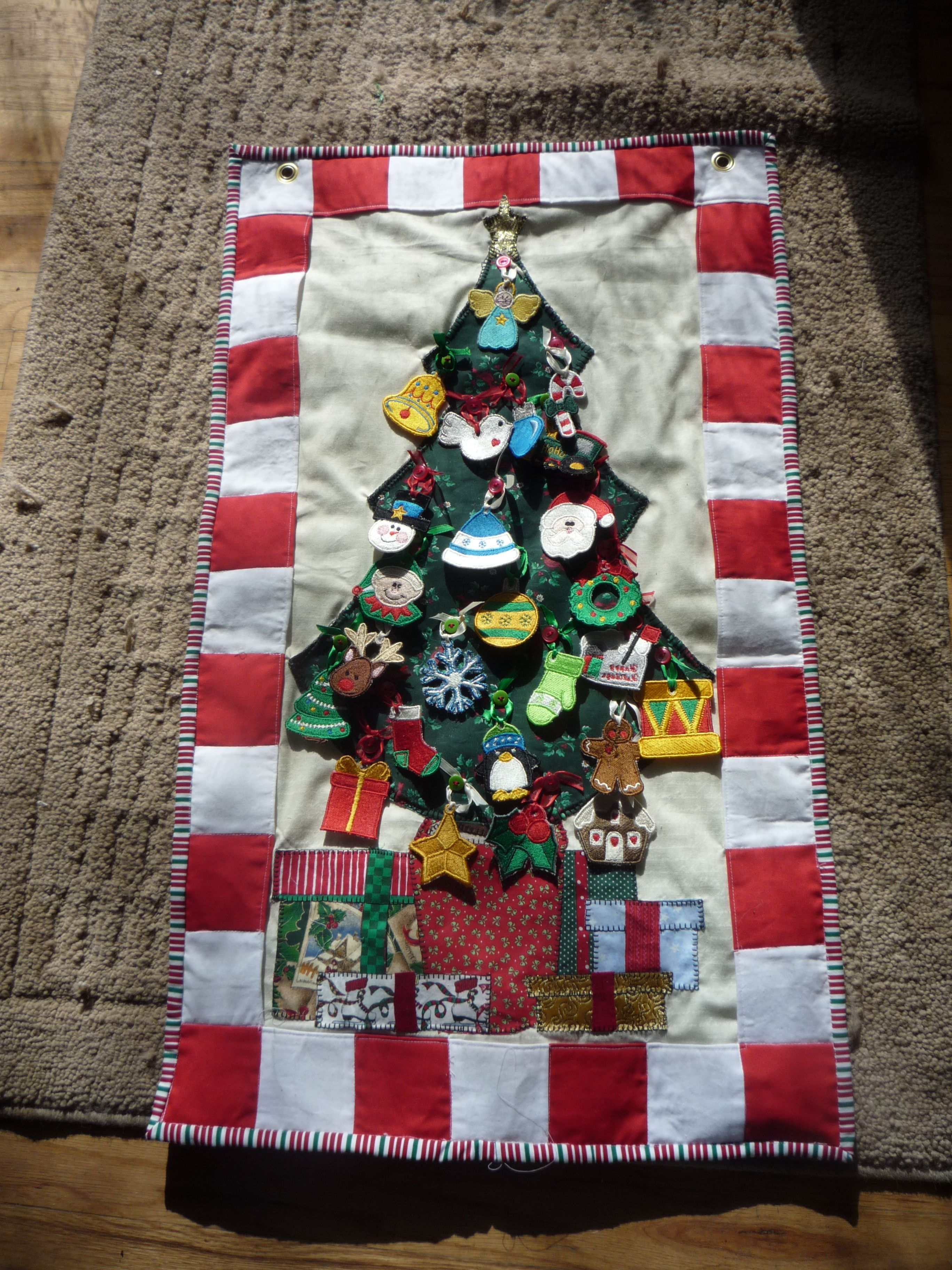 This Is An Advent Calendar I Made For My Great Grand