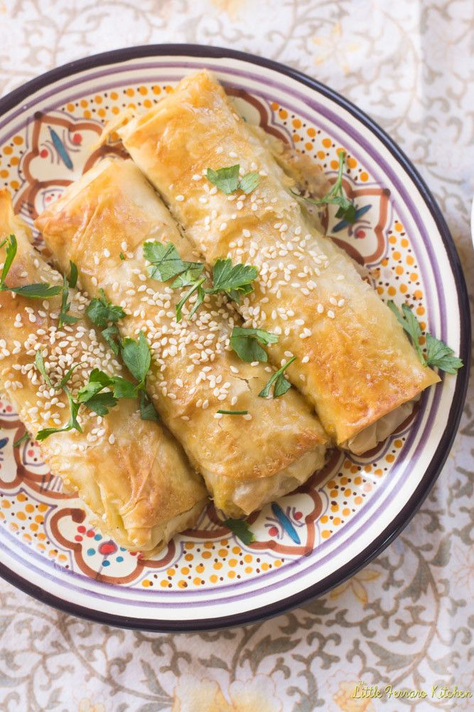 Turkish Breakfast with Eggplant Borek - The Little Ferraro Kitchen