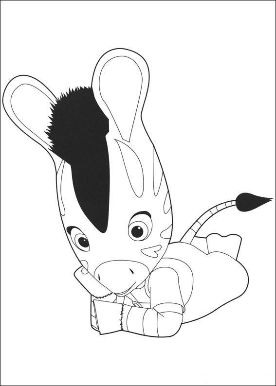 zouzou 13 ausmalbilder für kinder malvorlagen zum